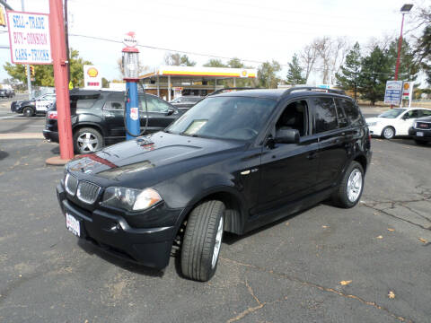 2005 BMW X3 for sale at Premier Auto in Wheat Ridge CO