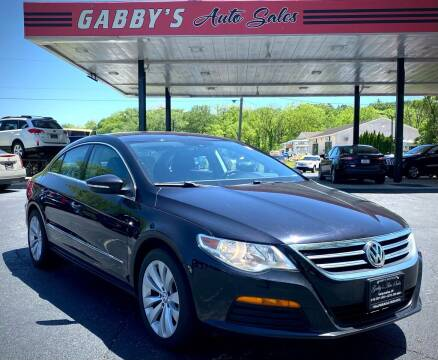 2011 Volkswagen CC for sale at GABBY'S AUTO SALES in Valparaiso IN