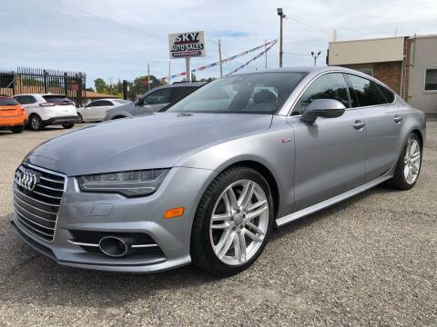 2017 Audi A7 for sale at SKY AUTO SALES in Detroit MI