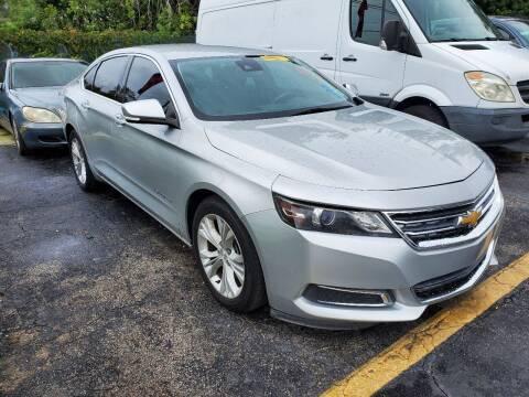 2015 Chevrolet Impala for sale at America Auto Wholesale Inc in Miami FL