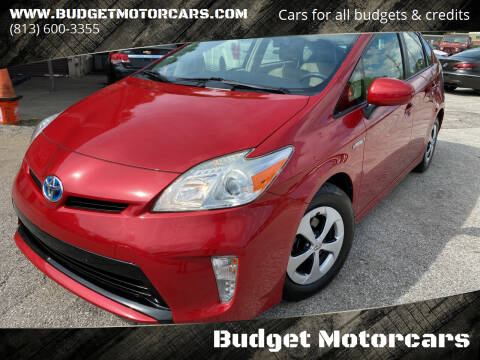2012 Toyota Prius for sale at Budget Motorcars in Tampa FL