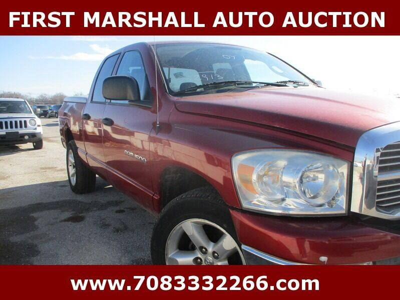 2007 Dodge Ram Pickup 1500 SLT 4dr Quad Cab 4WD LB - Harvey IL