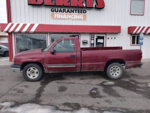 2004 Chevrolet Silverado 1500 for sale at Berry's Cherries Auto in Billings MT