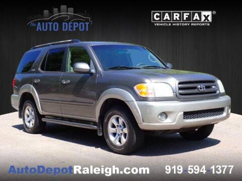 2004 Toyota Sequoia for sale at The Auto Depot in Raleigh NC