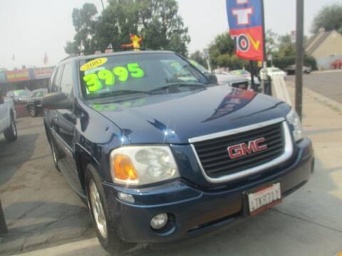 2002 GMC Envoy for sale at Quick Auto Sales in Modesto CA