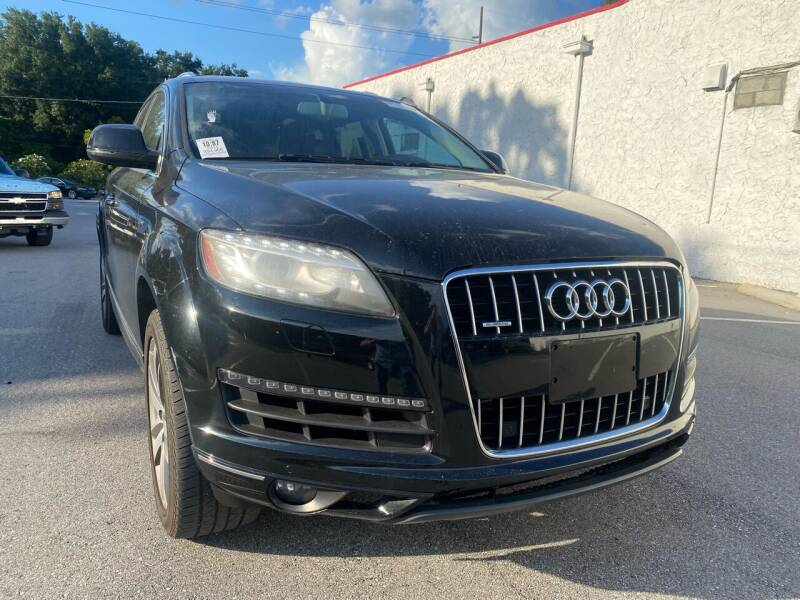 2014 Audi Q7 for sale at LUXURY AUTO MALL in Tampa FL