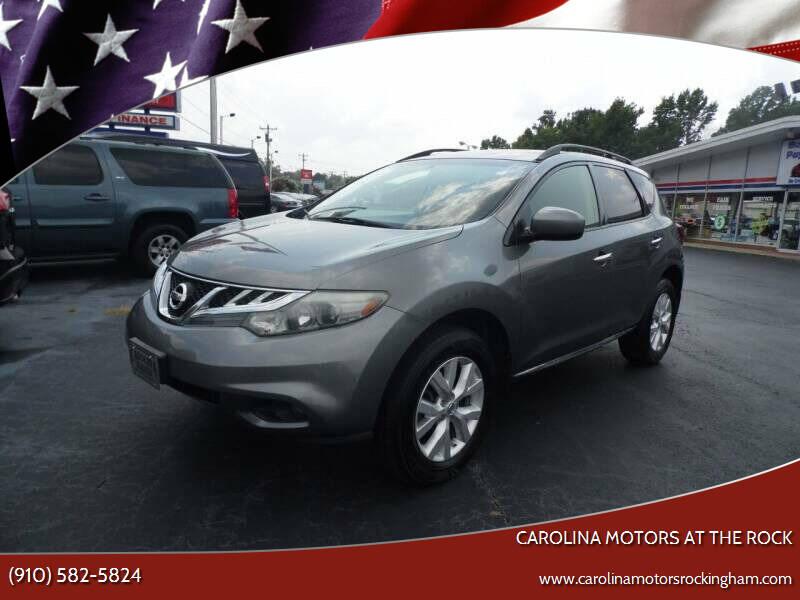 2014 Nissan Murano for sale at Carolina Motors in Thomasville NC