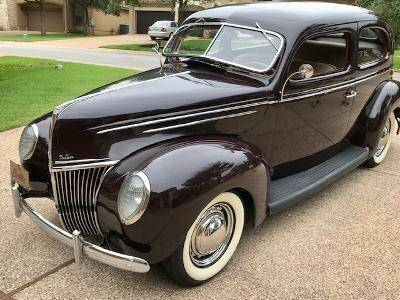 1939 Ford Deluxe for sale at Classic Car Deals in Cadillac MI