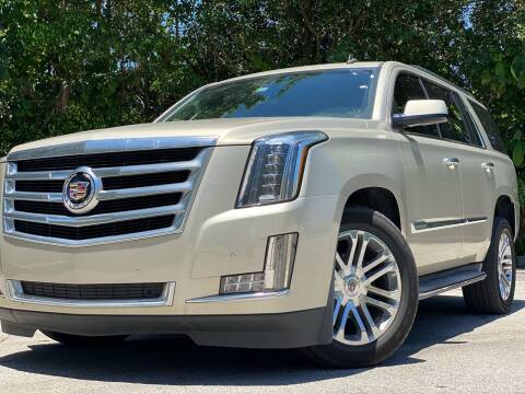 2015 Cadillac Escalade for sale at HIGH PERFORMANCE MOTORS in Hollywood FL
