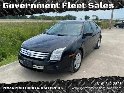2007 Ford Fusion for sale at Government Fleet Sales in Kansas City MO