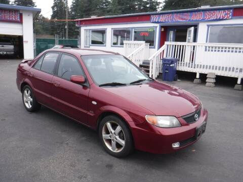 2003 Mazda Protege for sale at 777 Auto Sales and Service in Tacoma WA