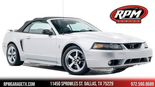 2001 Ford Mustang SVT Cobra for sale in Dallas, TX