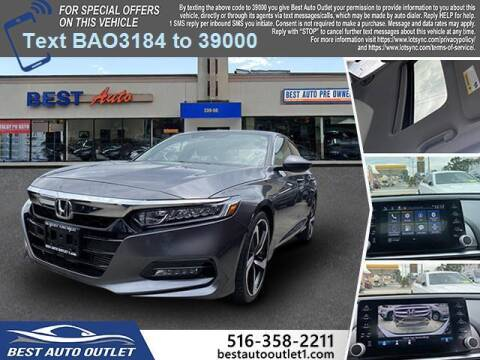 2018 Honda Accord for sale at Best Auto Outlet in Floral Park NY