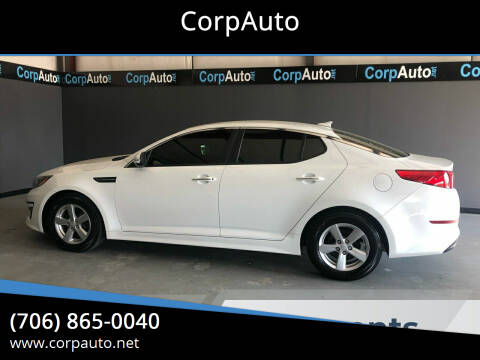 2014 Kia Optima for sale at CorpAuto in Cleveland GA