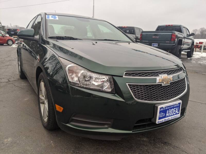 2014 Chevrolet Cruze for sale at GREAT DEALS ON WHEELS in Michigan City IN