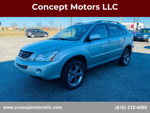 2006 Lexus RX 400h for sale at Concept Motors LLC in Holland MI