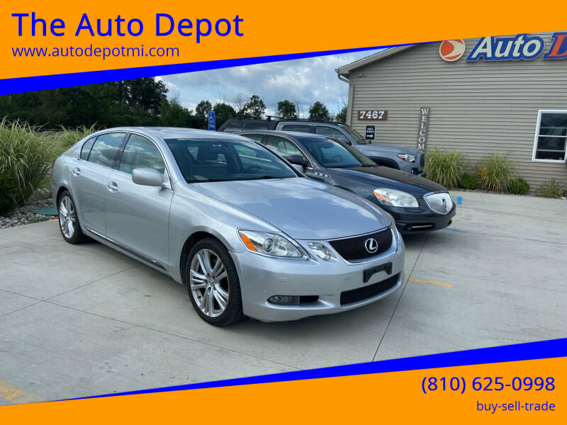 2007 Lexus GS 450h for sale at The Auto Depot in Mount Morris MI