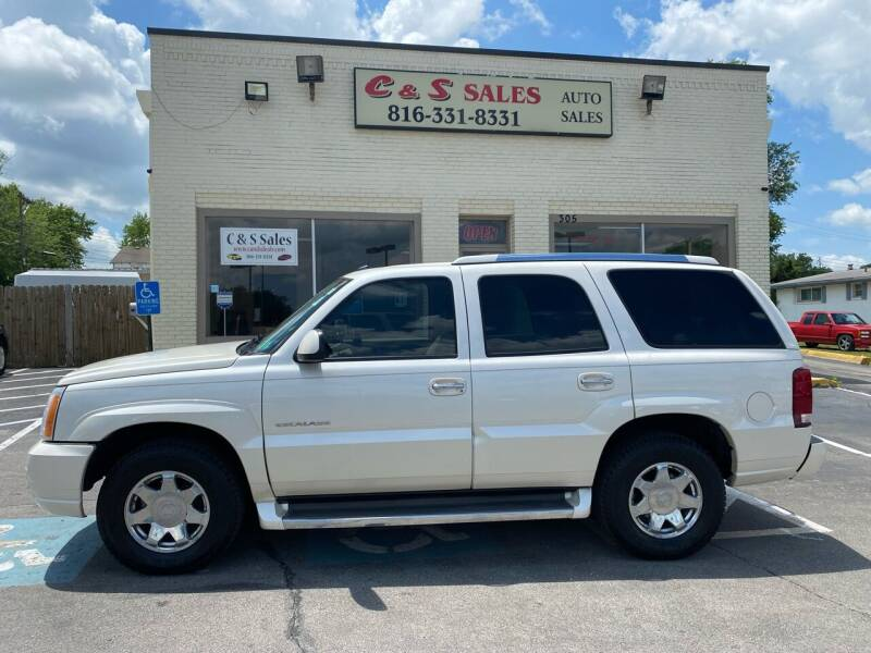 2005 Cadillac Escalade for sale at C & S SALES in Belton MO