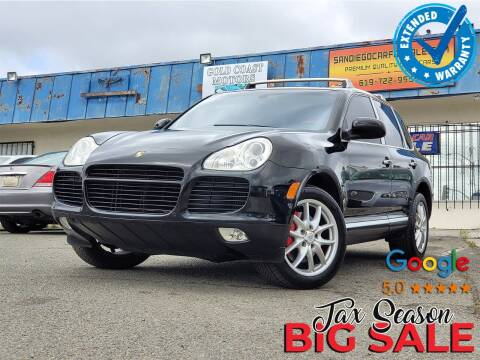 2004 Porsche Cayenne for sale at Gold Coast Motors in Lemon Grove CA