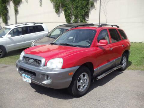2003 Hyundai Santa Fe for sale at Metro Motor Sales in Minneapolis MN