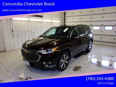 2020 Chevrolet Traverse for sale at Concordia Chevrolet Buick in Concordia KS