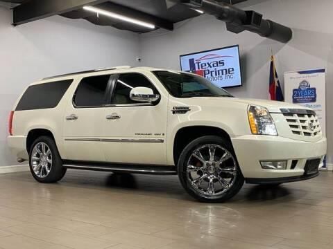 2008 Cadillac Escalade ESV for sale at Texas Prime Motors in Houston TX