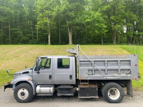 2012 International 4300 Crew Cab Dump Truck for sale at Griffith Auto Sales in Home PA