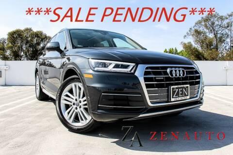 2018 Audi Q5 for sale at Zen Auto Sales in Sacramento CA