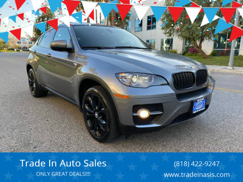 2012 BMW X6 for sale at Trade In Auto Sales in Van Nuys CA