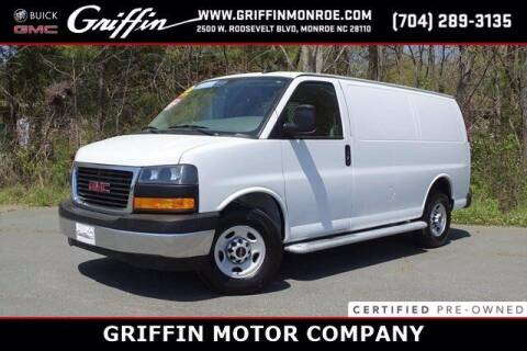 2019 GMC Savana Cargo for sale at Griffin Buick GMC in Monroe NC