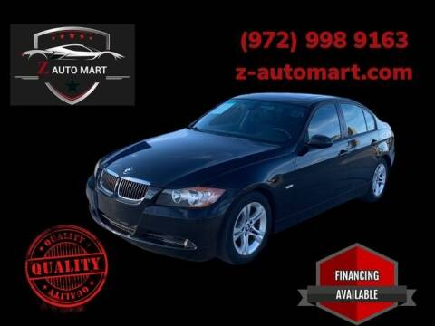 2008 BMW 3 Series for sale at Z AUTO MART in Lewisville TX