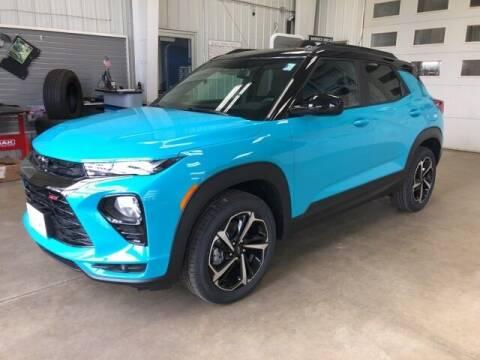 2021 Chevrolet TrailBlazer for sale at Paynesville Chevrolet - Buick in Paynesville MN
