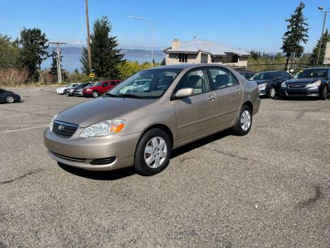 2006 Toyota Corolla for sale at KARMA AUTO SALES in Federal Way WA