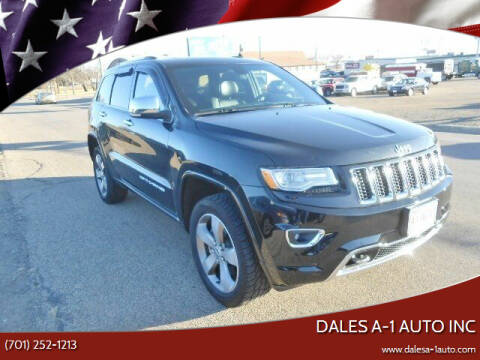 2014 Jeep Grand Cherokee for sale at Dales A-1 Auto Inc in Jamestown ND