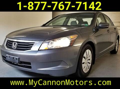 2009 Honda Accord for sale at Cannon Motors in Silverdale PA