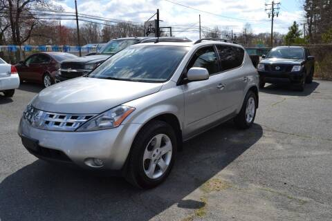 2003 Nissan Murano for sale at Victory Auto Sales in Randleman NC