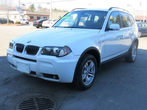 2006 BMW X3 for sale at United Auto Service in Leominster MA
