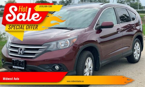 2013 Honda CR-V for sale at Midwest Auto in Naperville IL