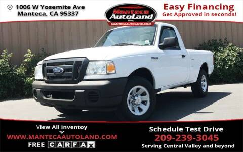 2011 Ford Ranger for sale at Manteca Auto Land in Manteca CA