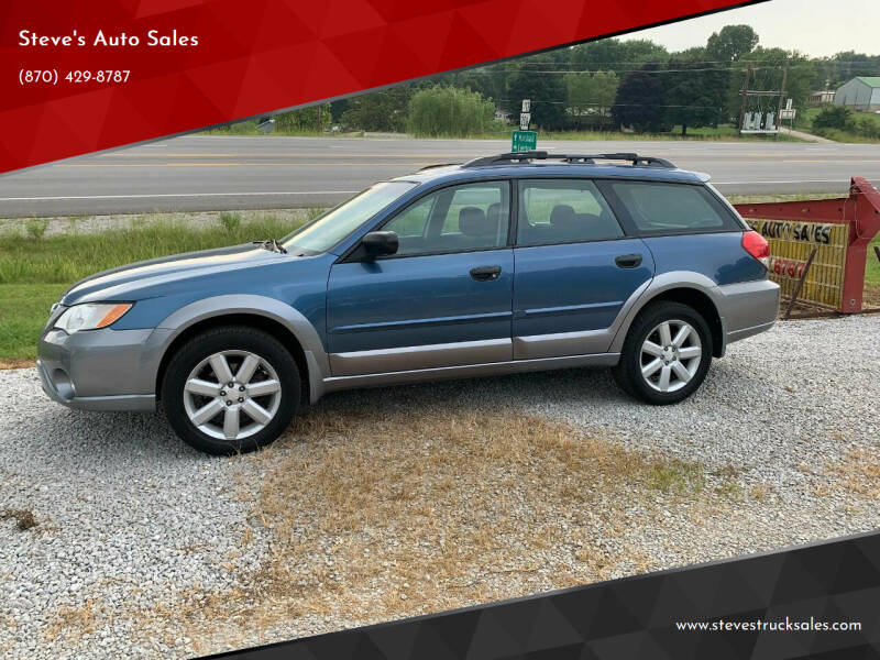 2008 Subaru Outback for sale at Steve's Auto Sales in Harrison AR