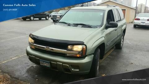 2004 Chevrolet TrailBlazer for sale at Cannon Falls Auto Sales in Cannon Falls MN