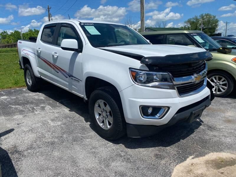 2017 Chevrolet Colorado for sale in Harrison, AR