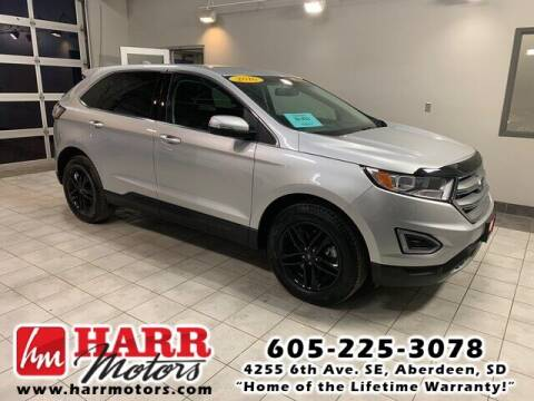 2016 Ford Edge for sale at Harr Motors Bargain Center in Aberdeen SD