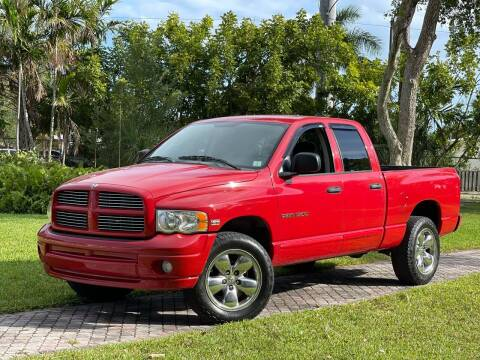 2005 Dodge Ram Pickup 1500 for sale at Citywide Auto Group LLC in Pompano Beach FL