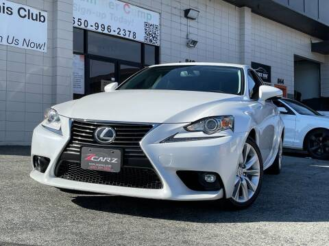 2016 Lexus IS 200t for sale at Z Carz Inc. in San Carlos CA