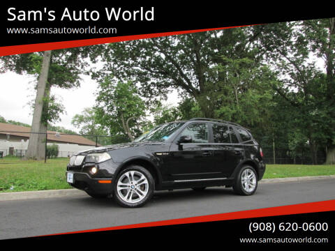 2007 BMW X3 for sale at Sam's Auto World in Roselle NJ