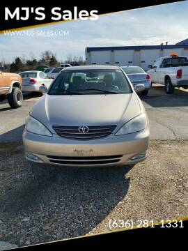 2004 Toyota Camry for sale at MJ'S Sales in O'Fallon MO