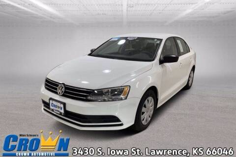 2016 Volkswagen Jetta for sale at Crown Automotive of Lawrence Kansas in Lawrence KS