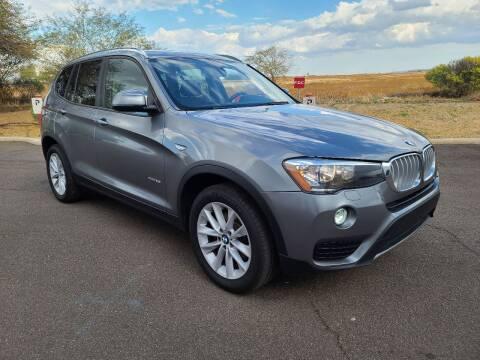 2017 BMW X3 for sale at NEW UNION FLEET SERVICES LLC in Goodyear AZ