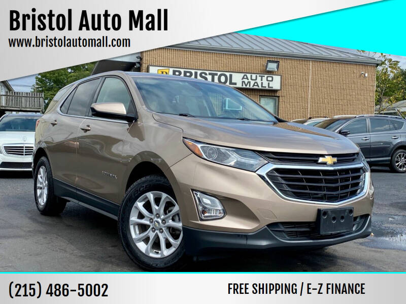 2018 Chevrolet Equinox for sale at Bristol Auto Mall in Levittown PA
